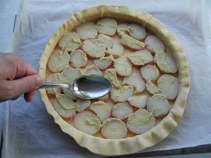 Vegetable pie : Photo of step #5