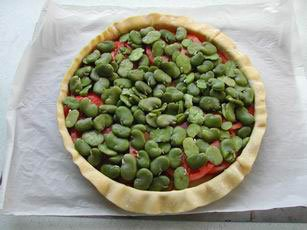 Vegetable pie : Photo of step #7