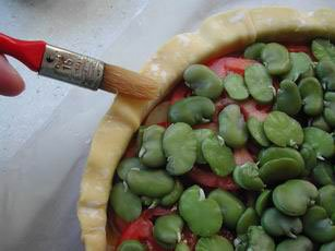 Vegetable pie : Photo of step #9