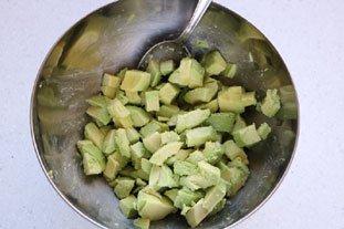 Avocado with Sautéed Prawns  : Photo of step #1