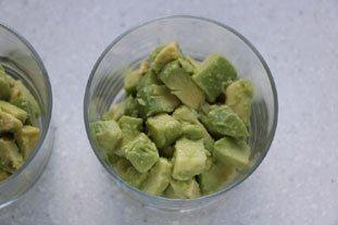 Avocado with Sautéed Prawns  : Photo of step #6