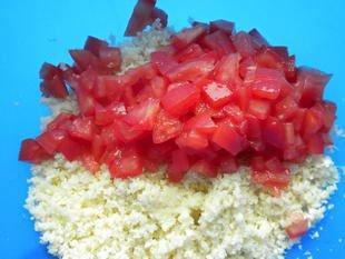 Cauliflower tabouleh : Photo of step #5