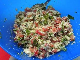 Cauliflower tabouleh : Photo of step #8