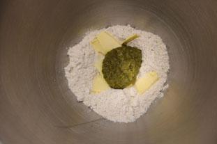 Pesto crackers : Photo of step #1