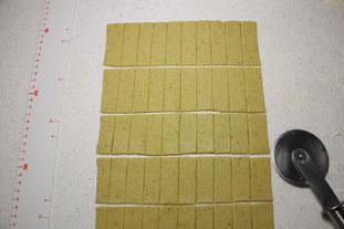 Pesto crackers : Photo of step #5