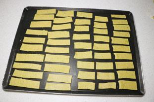 Pesto crackers : Photo of step #6