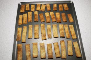 Pesto crackers : Photo of step #7