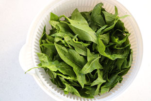 Baby spinach salad : Photo of step #2