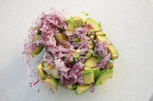 Mexican salad : Photo of step #3