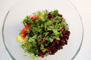 Mexican salad : Photo of step #6