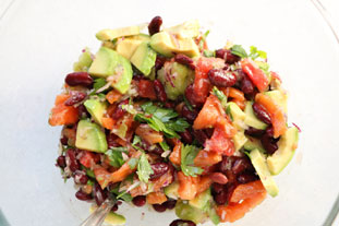 Mexican salad : Photo of step #8