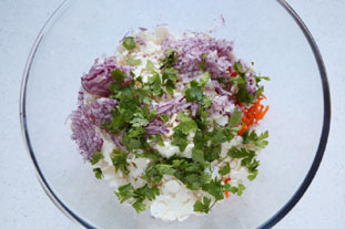 Breton coleslaw : Photo of step #3