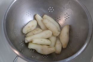 Jerusalem artichoke salad : Photo of step #3