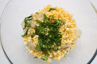 Jerusalem artichoke salad : Photo of step #7