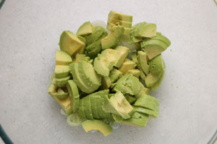 Pea and avocado salad : Photo of step #7