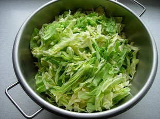Alsatian-style salad : Photo of step #1