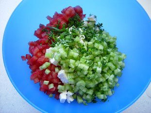 Greek salad : Photo of step #7