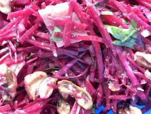 Raw beetroot salad : Photo of step #7