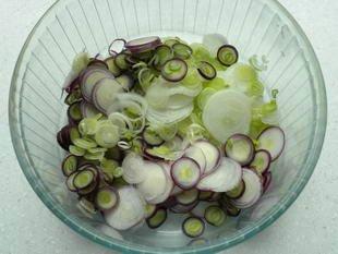 Warm chicken salad : Photo of step #2