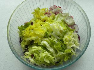 Warm chicken salad : Photo of step #4