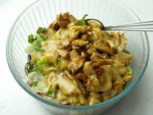Warm chicken salad : Photo of step #7