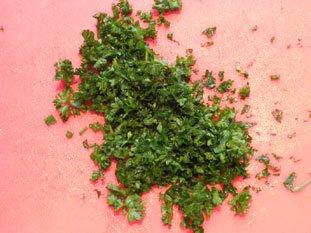 Cervelas salad : Photo of step #4