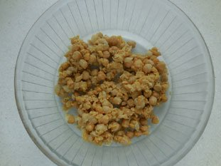 Chickpea salad : Photo of step #2