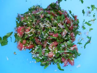 Lebanese Tabbouleh : Photo of step #5