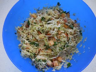 Warm scallop and cabbage salad : Photo of step #6