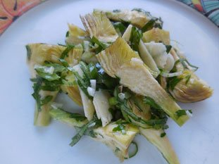 Poivrade Artichoke Salad : Photo of step #7