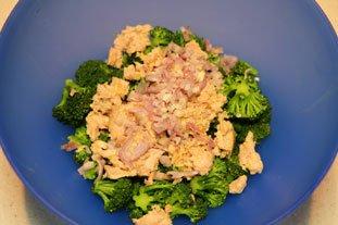 Warm broccoli and Tuna Salad : Photo of step #3