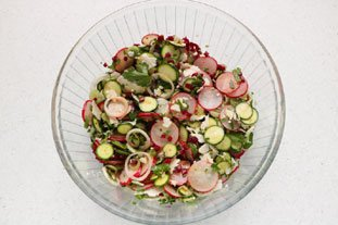 Crunchy spring salad : Photo of step #10