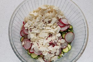 Crunchy spring salad : Photo of step #7