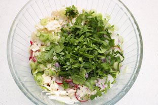Crunchy spring salad : Photo of step #9