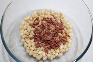 Warm haricot bean salad : Photo of step #5