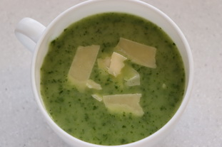 Turnip and Jerusalem artichoke soup : Photo of step #26