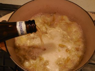 Endive and beer soup : Photo of step #6
