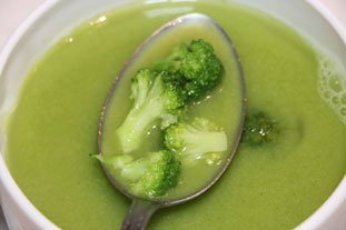 Light Broccoli Soup