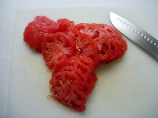 Tomato tatin : Photo of step #3
