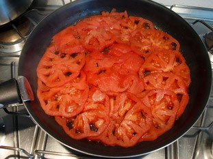 Tomato tatin : Photo of step #5