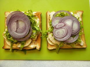 Chicken club sandwich : Photo of step #11