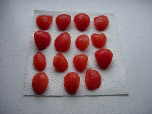 Preserved tomatoes : Photo of step #2