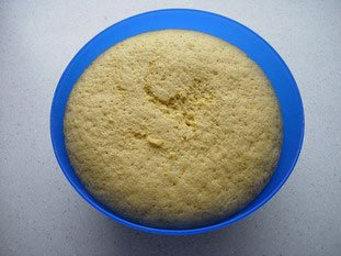 Cornmeal baps for Anne : Photo of step #6