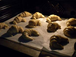 French croissants : Photo of step #19