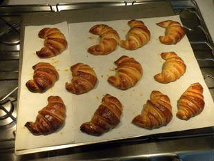 French croissants : Photo of step #21