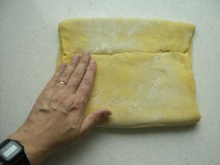 Brioche feuilletée (flaky brioche) : Photo of step #4