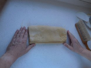Flaky chocolate brioche : Photo of step #15