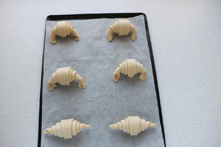 French croissants : Photo of step #20