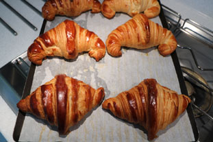 French croissants : Photo of step #23