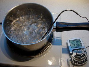 One should always cover a pan while heating : Photo of step #2